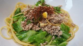 春キャベツと鶏挽肉ゆず胡椒パスタ3.jpg