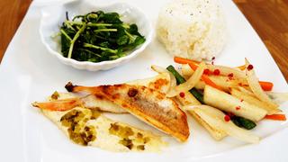 野菜と食べるいとより鯛のポアレ.jpg