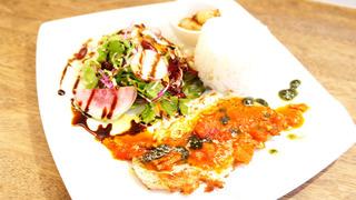 香りのジェノベで食べるポークステーキ.jpg